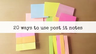 20 ways to use sticky notes! || himani shah screenshot 3