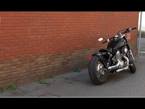 honda shadow ace 750 cc bobber youtube. Black Bedroom Furniture Sets. Home Design Ideas