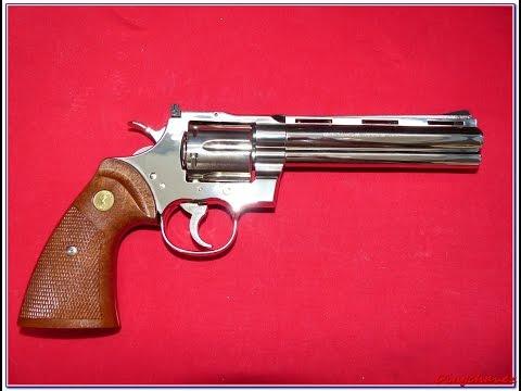 Airsoft - Tanaka Works - Colt Python .357 2016 shooting tests