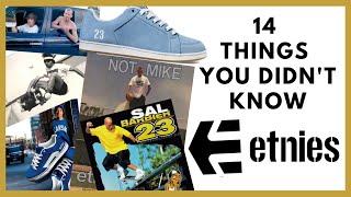 ETNIES SHOES: 14 Things You Didn't Know About Etnies