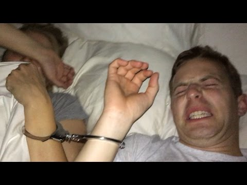 Thumbnail: Couples Get Handcuffed Together For 24 Hours • Ned & Ariel
