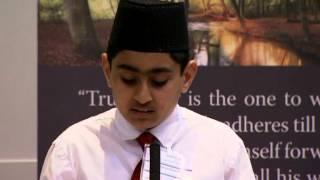 Gulshan-e-Waqfe Nau (Khuddam) Class - Vancouver (English)