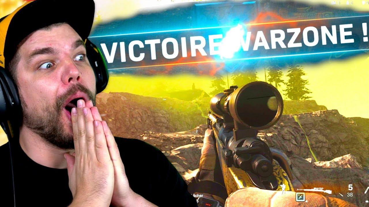 PREMIER TOP 1 WARZONE ! (Le Battle Royale de Call of Duty: Modern Warfare)