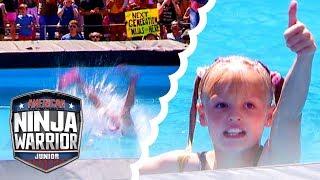 The BEST Splashes from American Ninja Warrior Junior | Universal Kids