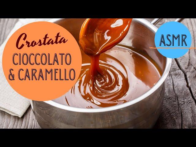 Crostata al caramello e cioccolato