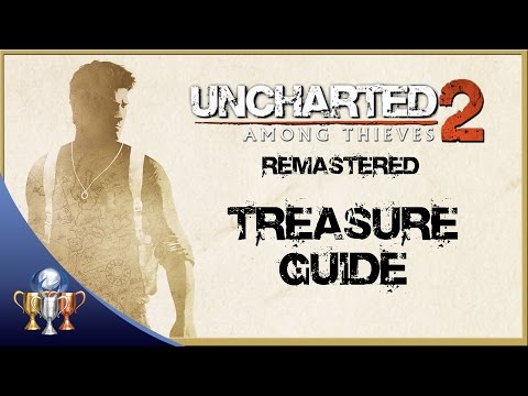 Uncharted 2 Among Thieves Remastered - All 101 Treasure Collectibles - The Nathan Drake Collection