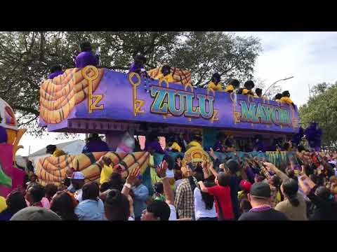 Krewe Of Zulu Parade 2018! - 610 Stompers! Pt.2 HAPPY MARDI GRAS NEW ORLEANS