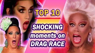 MOST SHOCKING MOMENTS ON RUPAUL'S DRAG RACE 2018