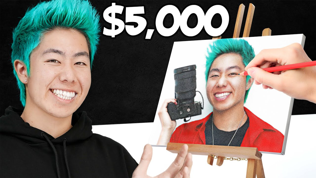 Best 10 Million Dots Art Wins $5,000 Challenge! | ZHC Crafts