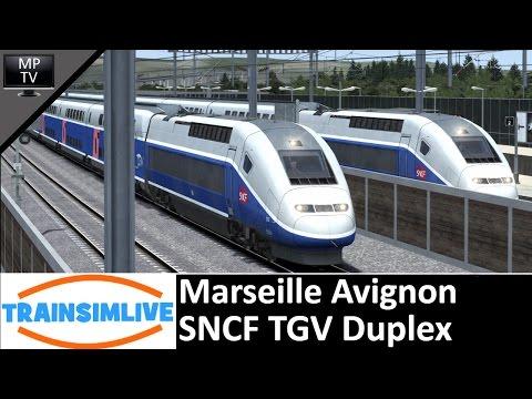 MattPlaysTV@1080P - Train Simulator - Marseille Avignon, SNCF TGV Duplex