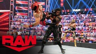 Lucha House Party vs. MACE & T-BAR: Raw, July 5, 2021