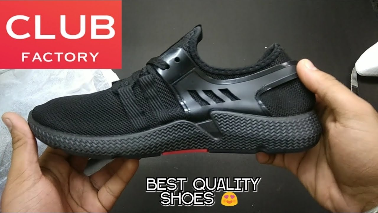 Club Factory shoes unboxing - YouTube