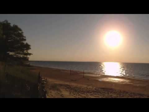 Sunset Over Sleeper State Park, Caseville Michigan HD Stereo