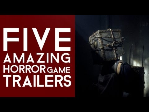 5 AMAZING Horror Game Trailers!