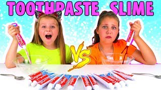 Don't Choose the Wrong Toothpaste Slime Challenge!! thumbnail