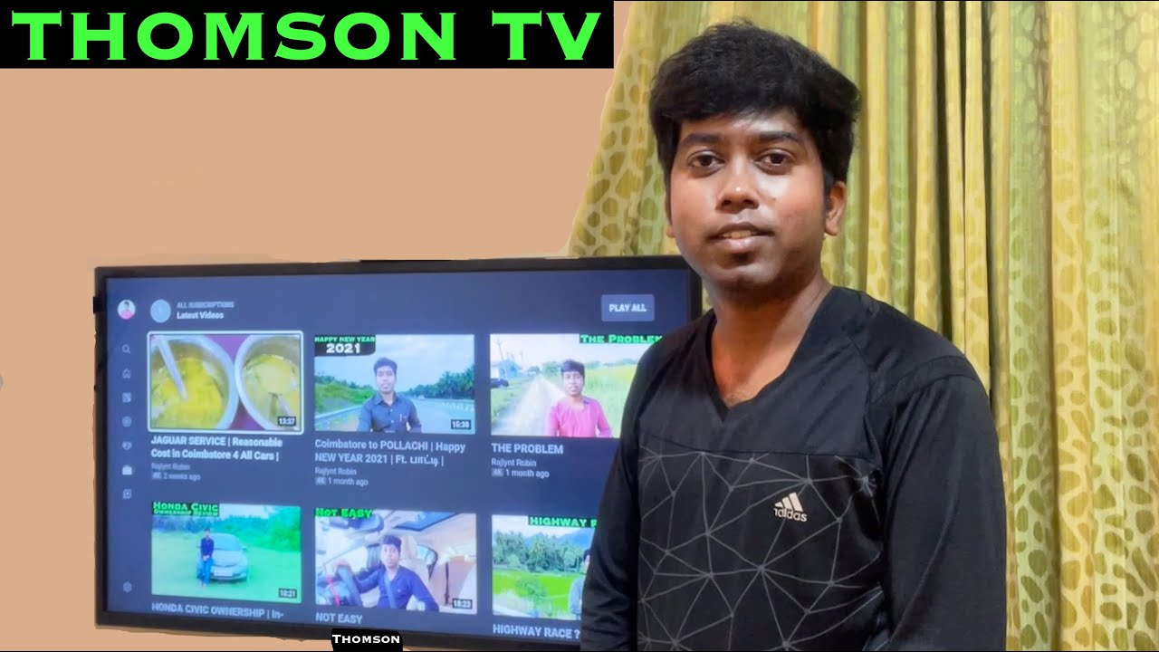 THOMSON LED TV 40 Inch Unboxing & Review   9A Series