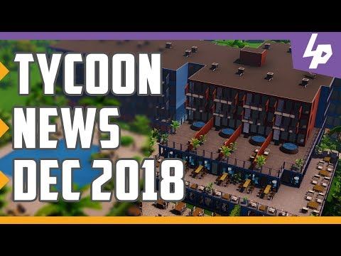 Tycoon And Business Management Games News December 2018