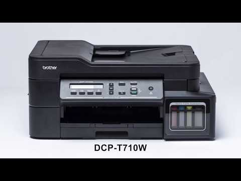 DCP-T710W Refill Tank System – Wifi, Mobile-Print, AutoDocument Feeder