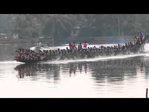 Jesus Boat Club Trial in Karichal Chundan for Presidents Trophy Boat Race 2013