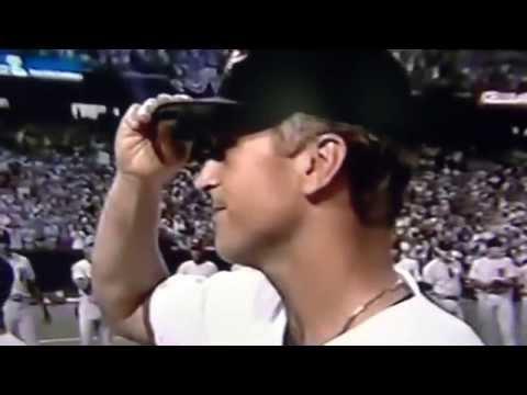 Cal Ripken Jr. Huge Ovation 1993 All Star Game