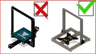 Замена Рамы на Tevo Tarantula ИЛИ 3Д Принтер Своими Руками