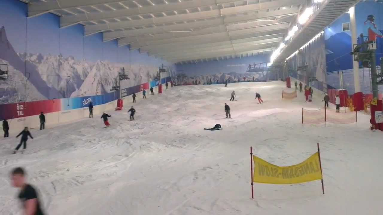 Skiing At Hemel Hempstead Snow Centre Youtube