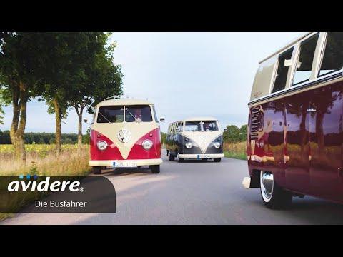 Imagefilm für die Busfahrer Realfilm mit Drohneneinsatz