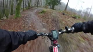 E-Bike test 2 At Coed-y-Brenin 15-01-17 | Don Gorgon