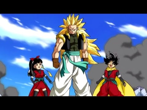 Dragon Ball Heroes - All Super Saiyan 3 Gotenks & Buu Saga ...