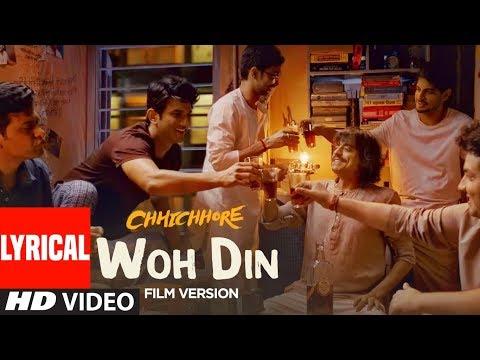 Download Lagu  al: Woh Din Film Version | Chhichhore | Sushant,Shraddha | Pritam | Tushar Joshi Mp3 Free