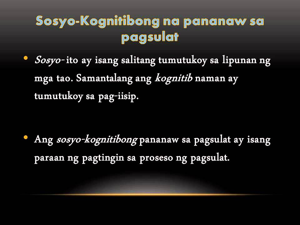 Pagsulat At Pagbasa Filipino II