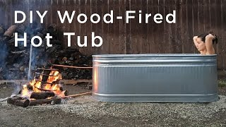 Video DIY Wood Fired Hot Tub download MP3, 3GP, MP4, WEBM, AVI, FLV Agustus 2018