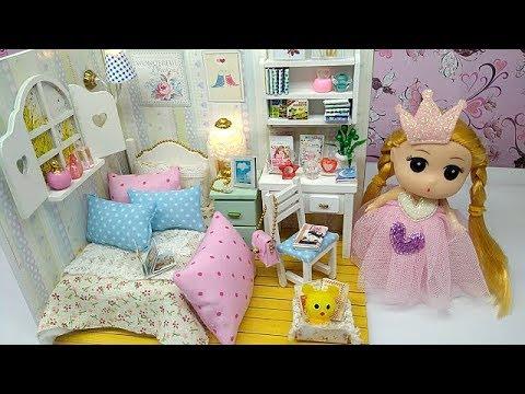 DIY Miniatur Rumah Barbie Lucu Bikin Gemes