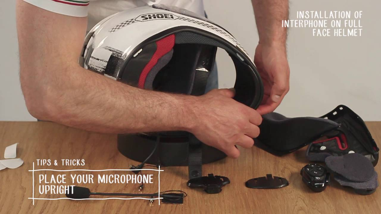 How to Install Intercom on Helmet