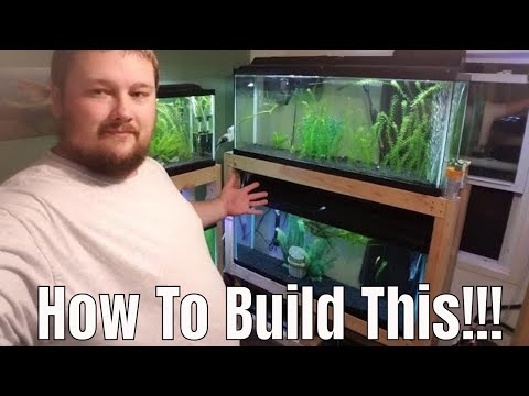 Stacked 55 Gallons - How To Build This Stand!