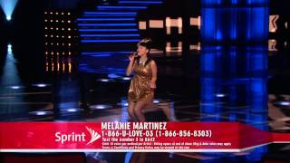 The Voice -Melanie Martinez (Live shows)