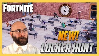 New! Fortnite Creative Locker Hunt minigame! | Swiftor