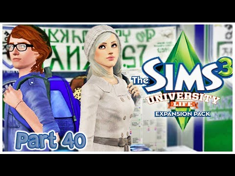 Let's Play: The Sims 3 University {Part 40} Dazed And Confused.