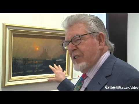 Rolf Harris on latest painting collections