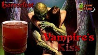 Spirit Cocktails Horrorfest Vampire's Kiss Cocktail