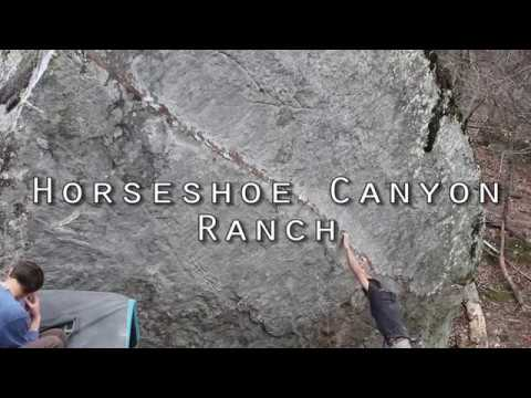Ozark Sandstone: Horseshoe Canyon Ranch and Font Green, Spring Break 2018