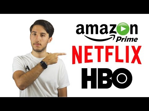 Netflix, HBO o Amazon Prime  Versión España finales 2017