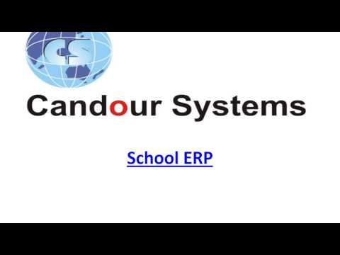 School ERP Software - Student Management Software | School Management Software | Candour Systems