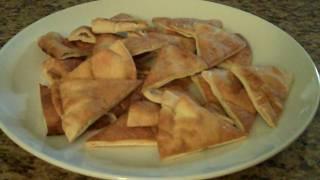 Pita Chips- Lynn's Recipes