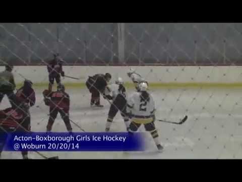 Acton Boxborough Varsity Girls Hockey @ Woburn 2/20/14