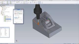 SolidCAM University: HSR/HSM  - Machining A Mold Insert