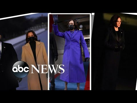 Amid the pandemic, fashion statements made an impact on Inauguration Day | Nightline - ABC News