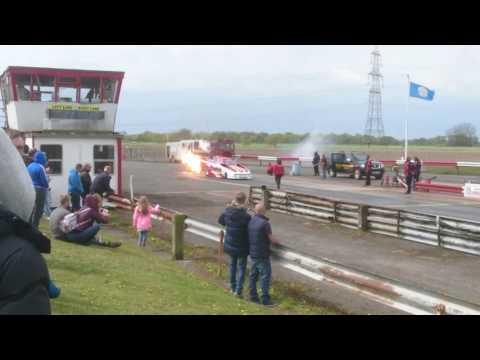 Roger goring jet funny car, york raceway Rwyb 2017
