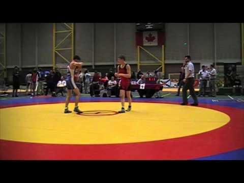 2014 Junior Greco-Roman National Championships: 50 kg Final Bart Duncan vs. Eric Robertson