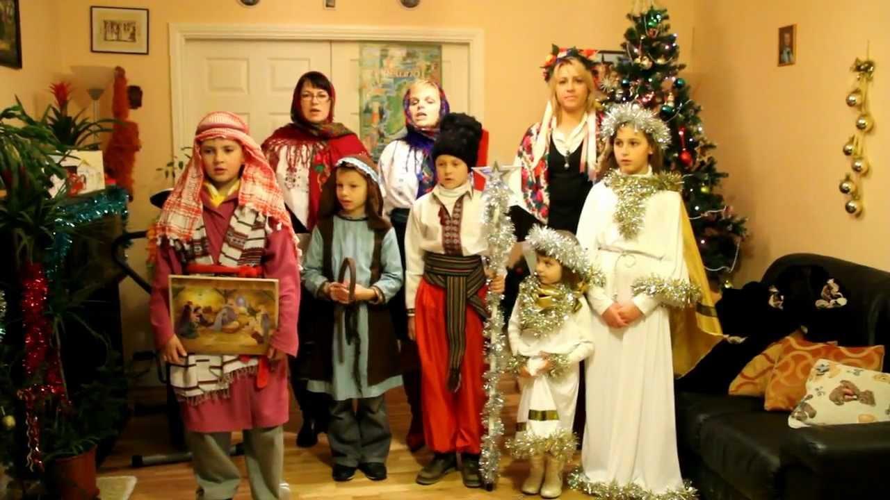 Ukrainian Christmas Caroling, Ireland 2012 - YouTube